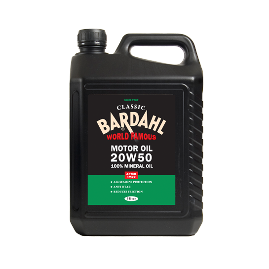 Bardahl classic sae 20w50 classic car expert for Motor oil for older cars