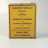 Carbarateur kit